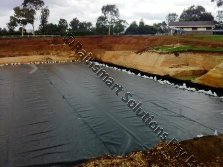 Rainsmart solutions for Geotextile bassin